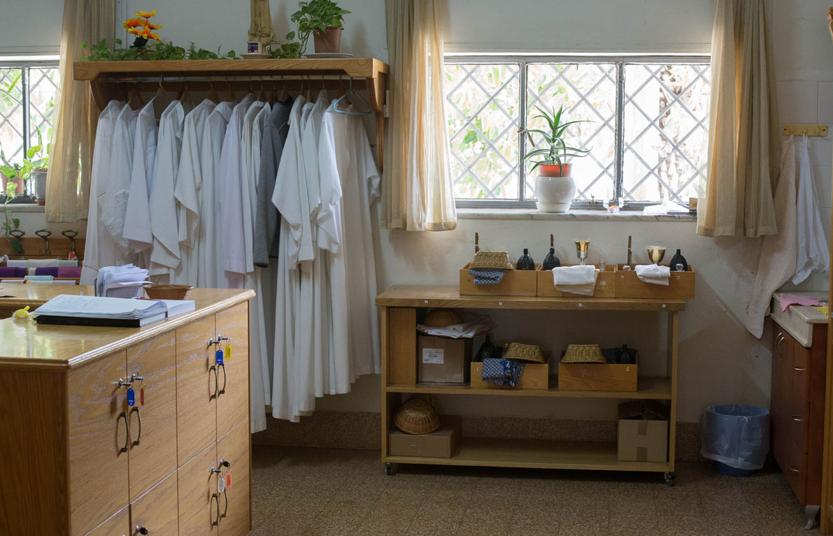 Mount of Beatitudes closet. I am always intrigued by the normalcy of these religious sites. People live here and carry out normal life on a daily basis, while thousands come through each day/year.