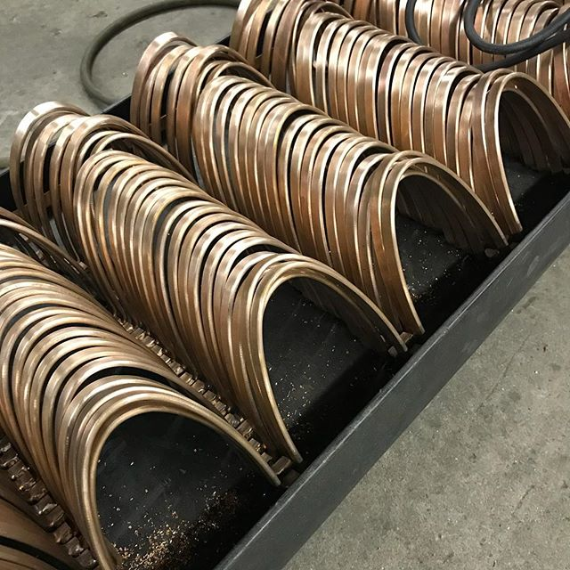 #bronze pieces for a #balustrade  And hello again!...we took a little break this winter after the intensity of 2018. We should have some great pics to post of our fall projects soon!