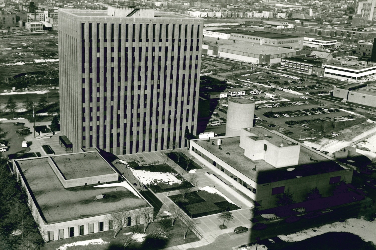 Aerial view, 1981