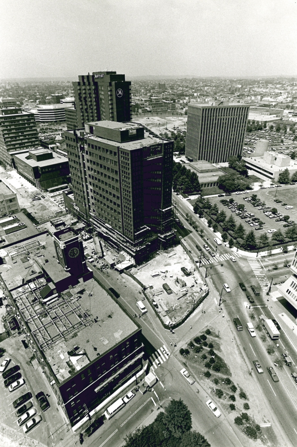 Aerial view, 1987