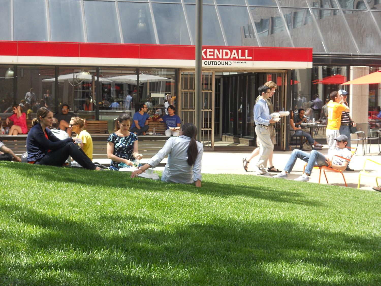 Kendall Center Plaza