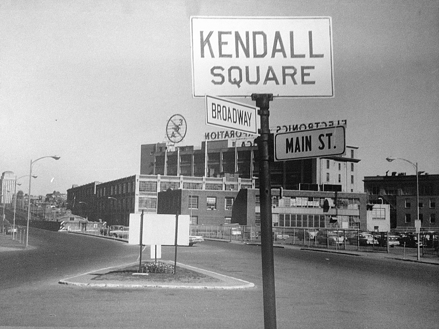 Intersection of Broadway and Main