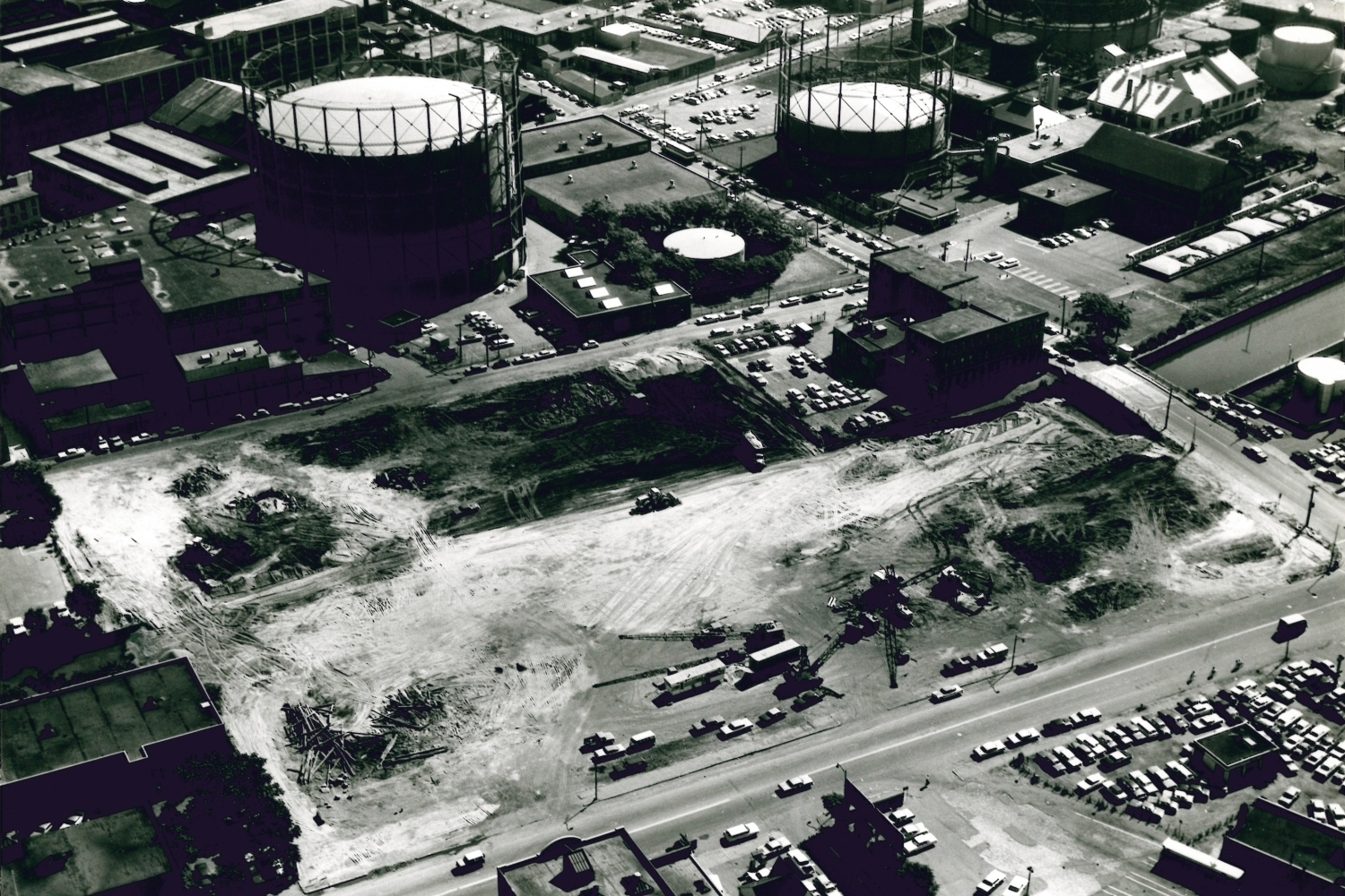 Aerial view, 1966