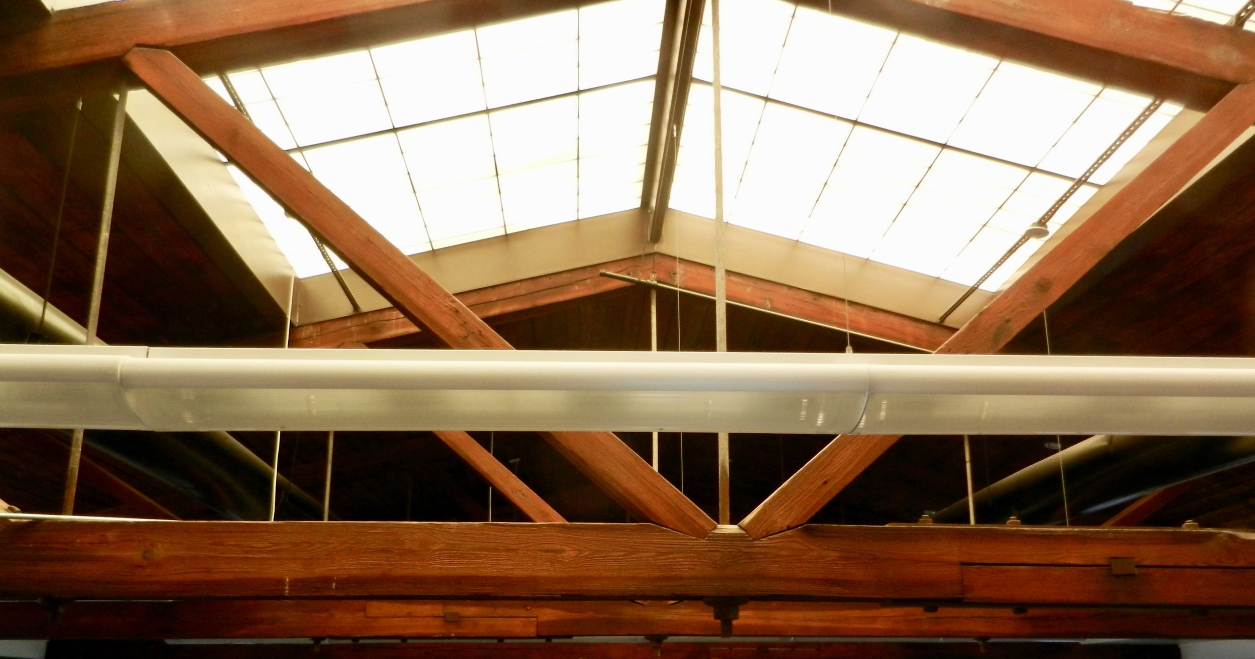 Skylight - view from the third floor of the Foundry