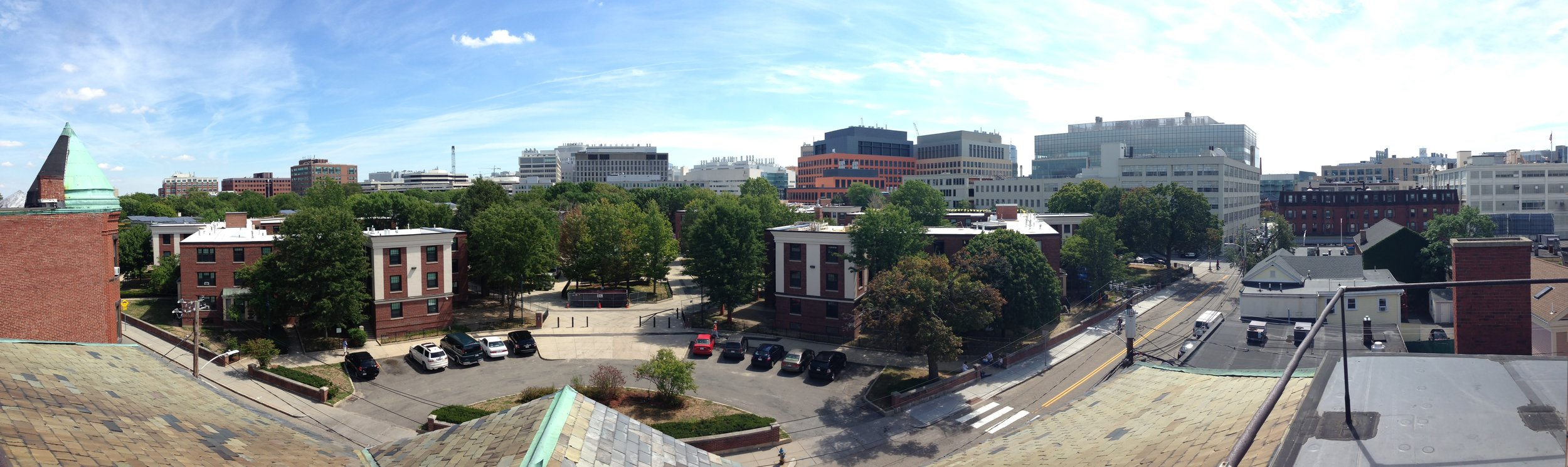 View from the roof of 105 Windsor Street