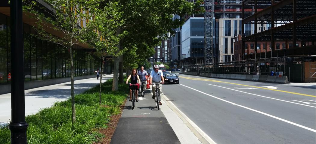 Binney St Bike Path