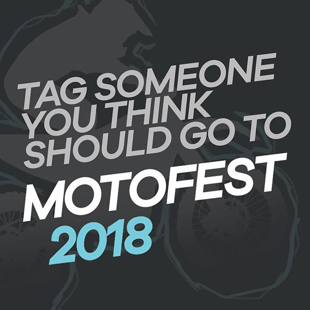 Tag someone below who should come to Motofest! #ignitedofficial #motofest