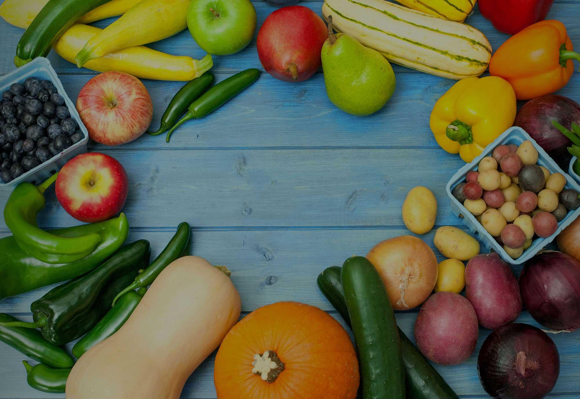 Organic bounty,<br>all year long.
