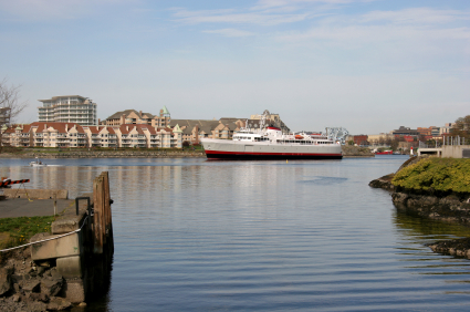The Coho in Victoria's Inner Harbour