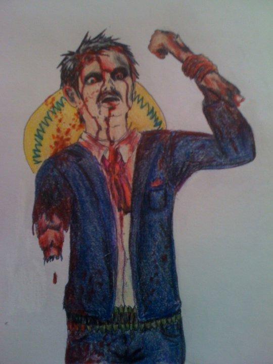 Mexican Cowboy Zombie V2