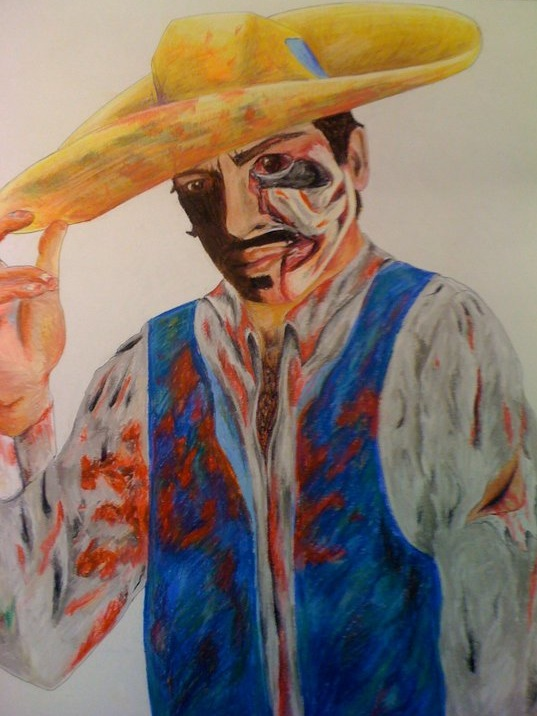 Mexican Cowboy Zombie V1