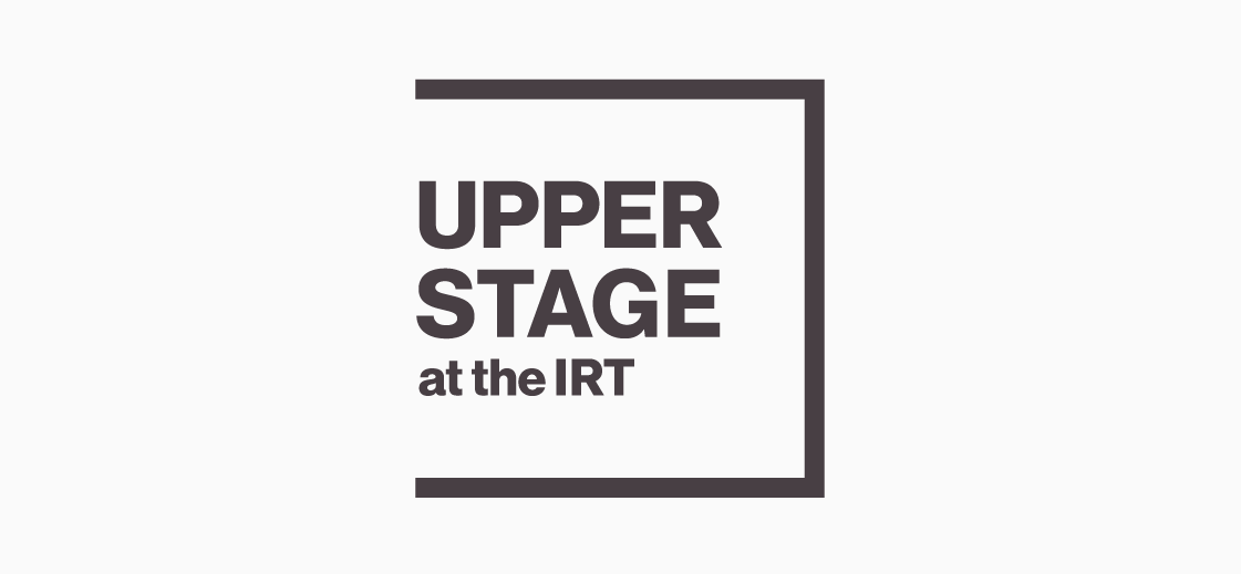 Logo design for the Upperstage. Here, the play is on the 'black-box' theater style, along with the theatrical concept of a 'fourth wall.'