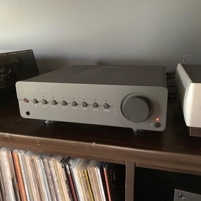 Selling this essentially new Quad Vena II at a good price. Dm for details. #audiophile #amplifier #quad #hifi #hifiaudio