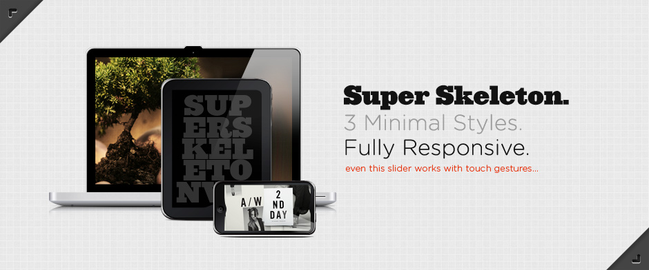 Super Skeleton Theme