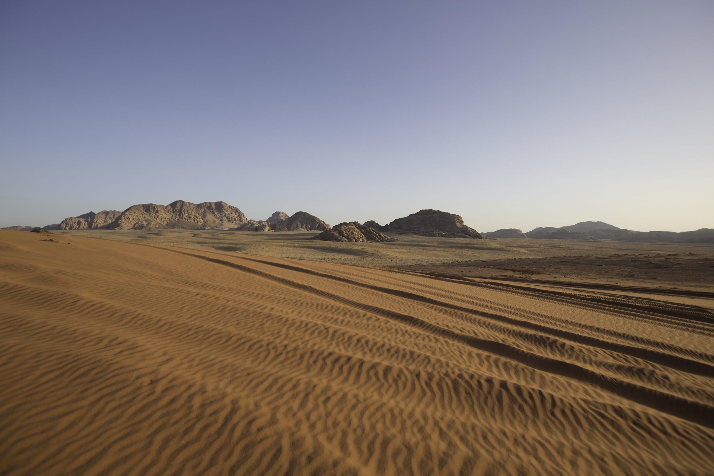 Original background plate, Wadi Rum, Jordan.