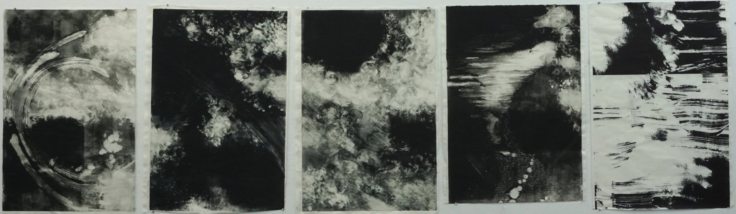 Elizabeth Seibert  Monotype (series of 5)  Monotype 1