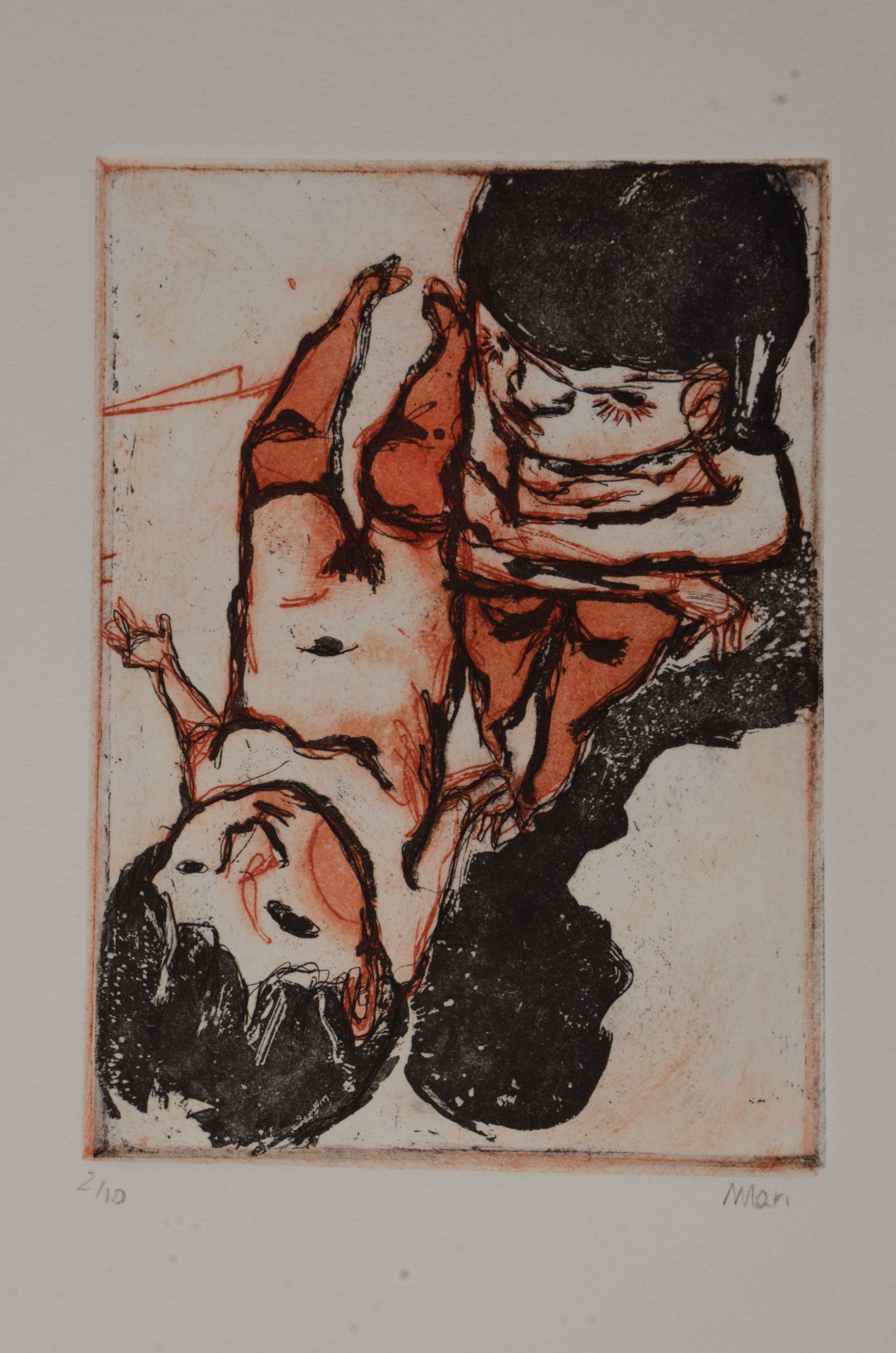 Mariangela Le Thanh  Etching with spit bite  Etching 2