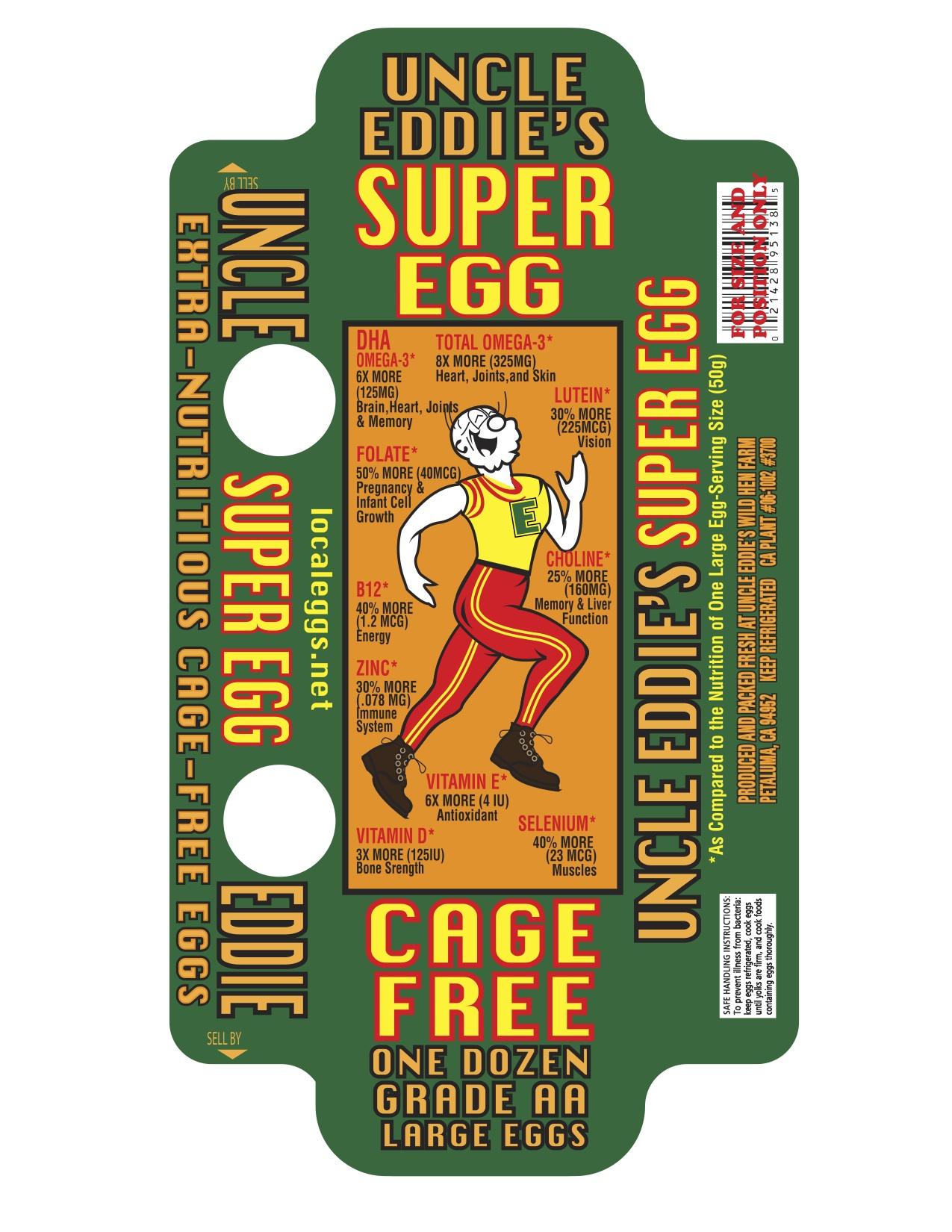 Uncle Eddies Super Egg