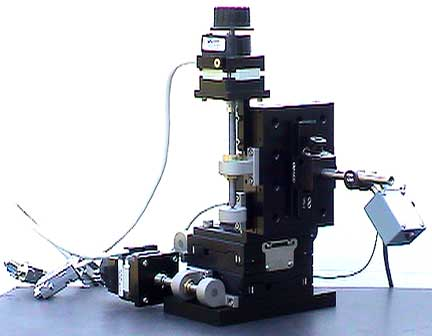 TYPICAL SIET SYSTEM WITH 3D MICRO MANIPULATOR