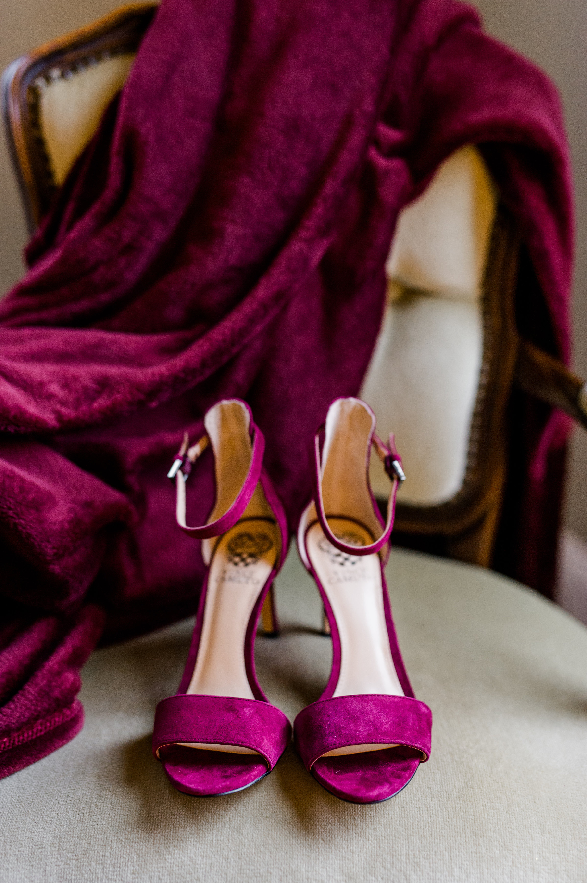 Shoes are fun and can add a little 'pop' of color!