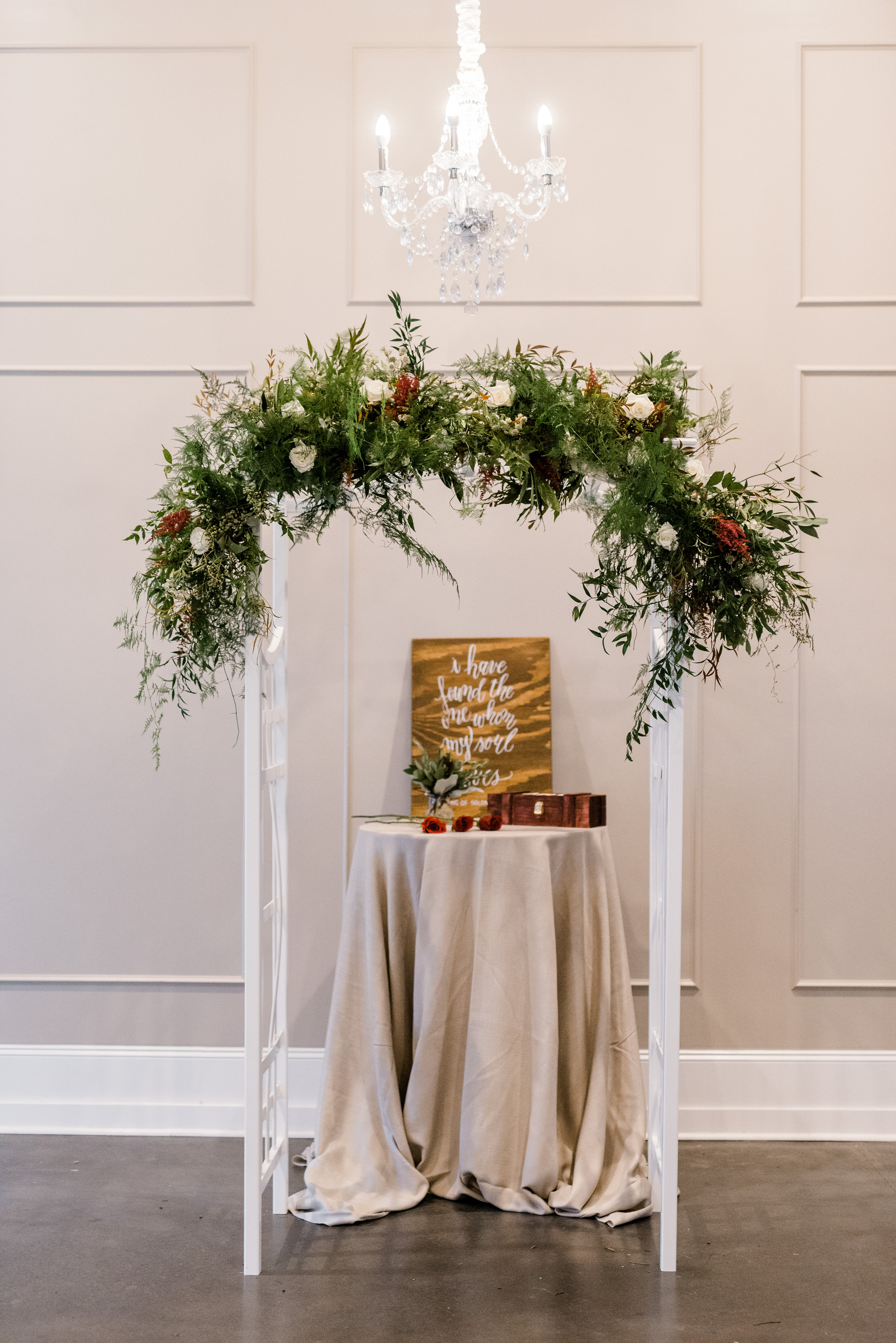 The alter is very important because it is the focal point of your ceremony! This is where you and your soon-to-be husband will become one... make it speak love!!!