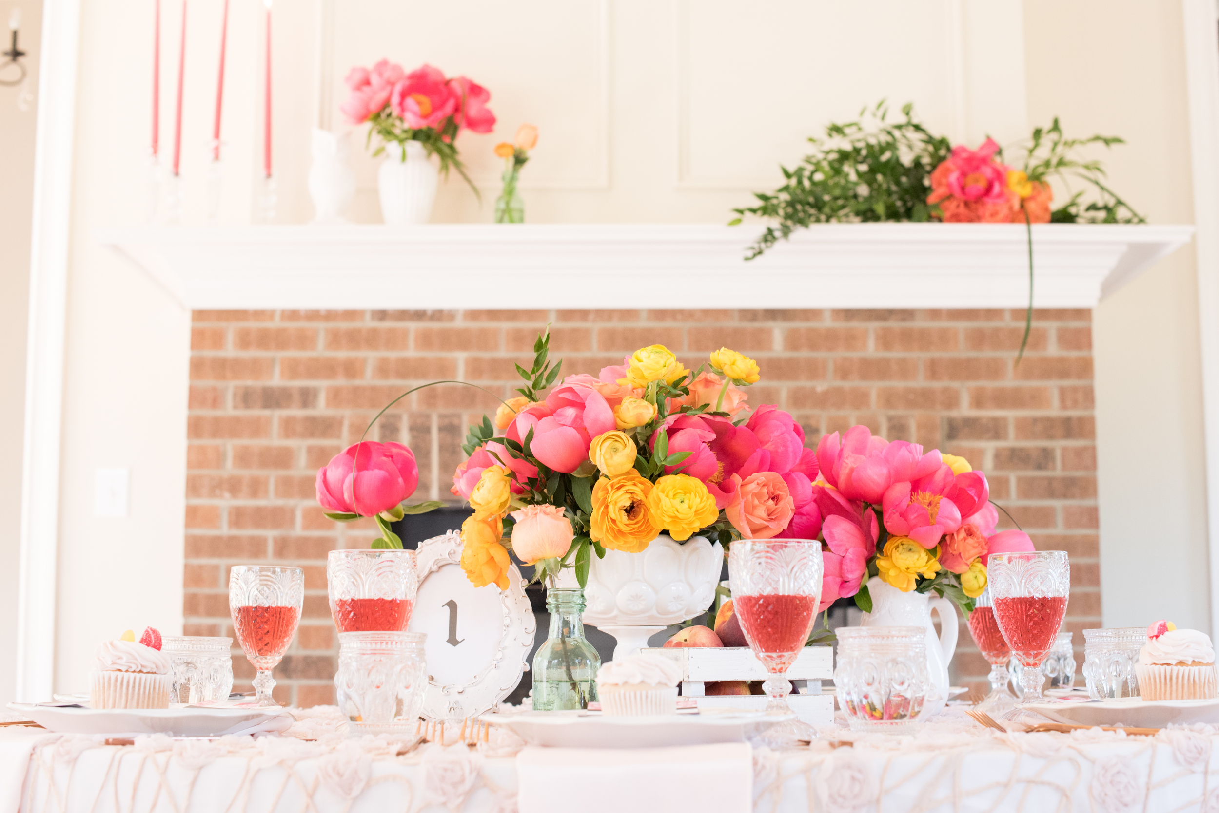 Bright Vintage and Modern Styled Shoot  Photo By Mikkel Paige Photography  Featured on Every Last Detail
