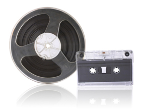audio reel and audio cassette