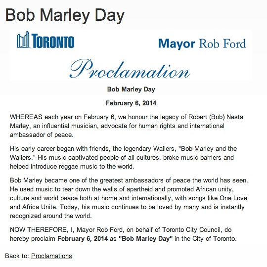 MAYOR-ROB FORD- BOB MARLEY DAY.jpg