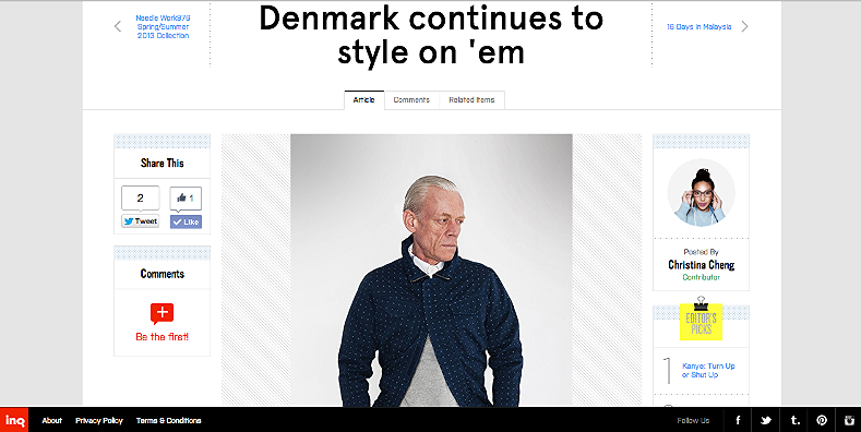 Denmark continues to style on 'em  http://inqmind.co/2013/03/denmark-continues-to-style-on-em/