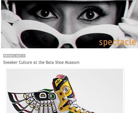 Sneaker Culture at Bata Shoe Museum   http://spectaclelovesyou.blogspot.ca/2013/05/sneaker-culture-at-bata-shoe-museum.html