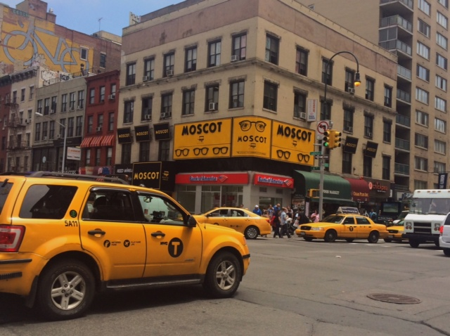 As a frame stylist, I definitely had to visit the original   MOSCOT   familia whilst in NYC. ( 14th Street & 6th Avenue)