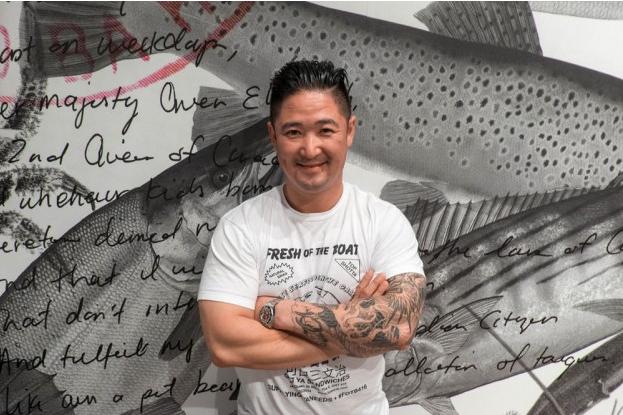 Owner & Chef, Quinten Tran | Photo courtesy of Renée Suen