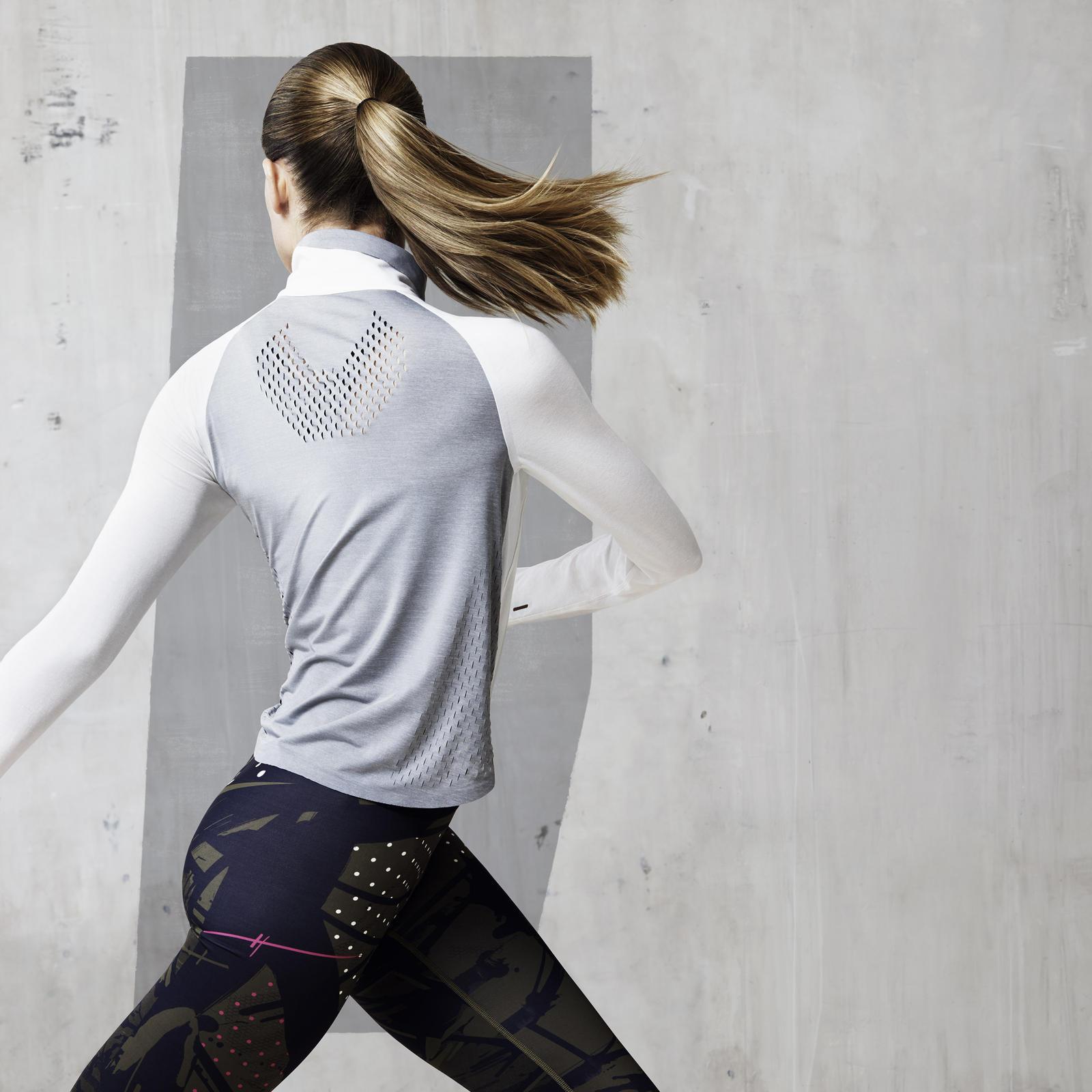 NikeLab x JFS Crop Long Sleeve Top