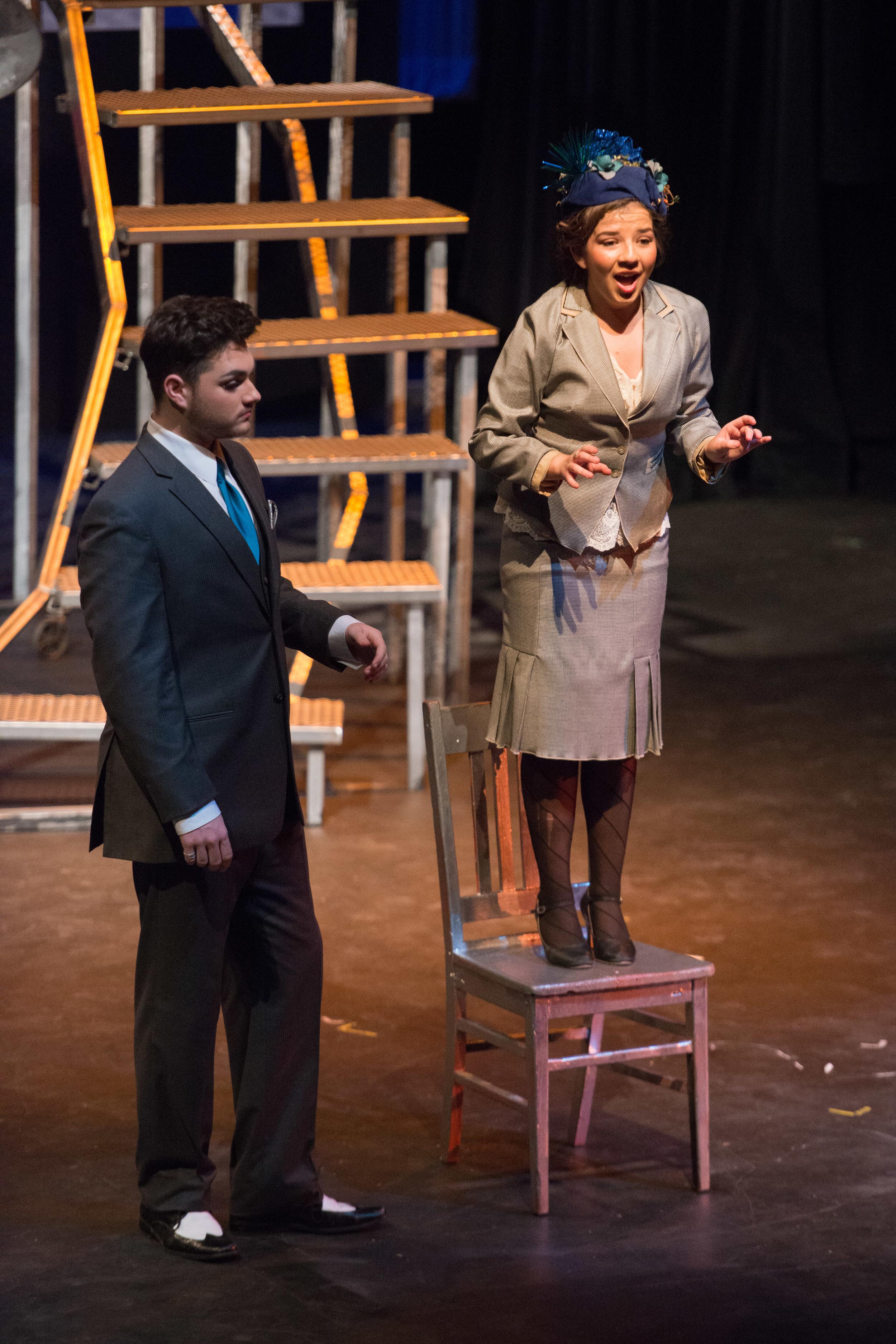 Chicago at Santa Barbara High School Theatre. Photo Courtesy of Kristi Sestak
