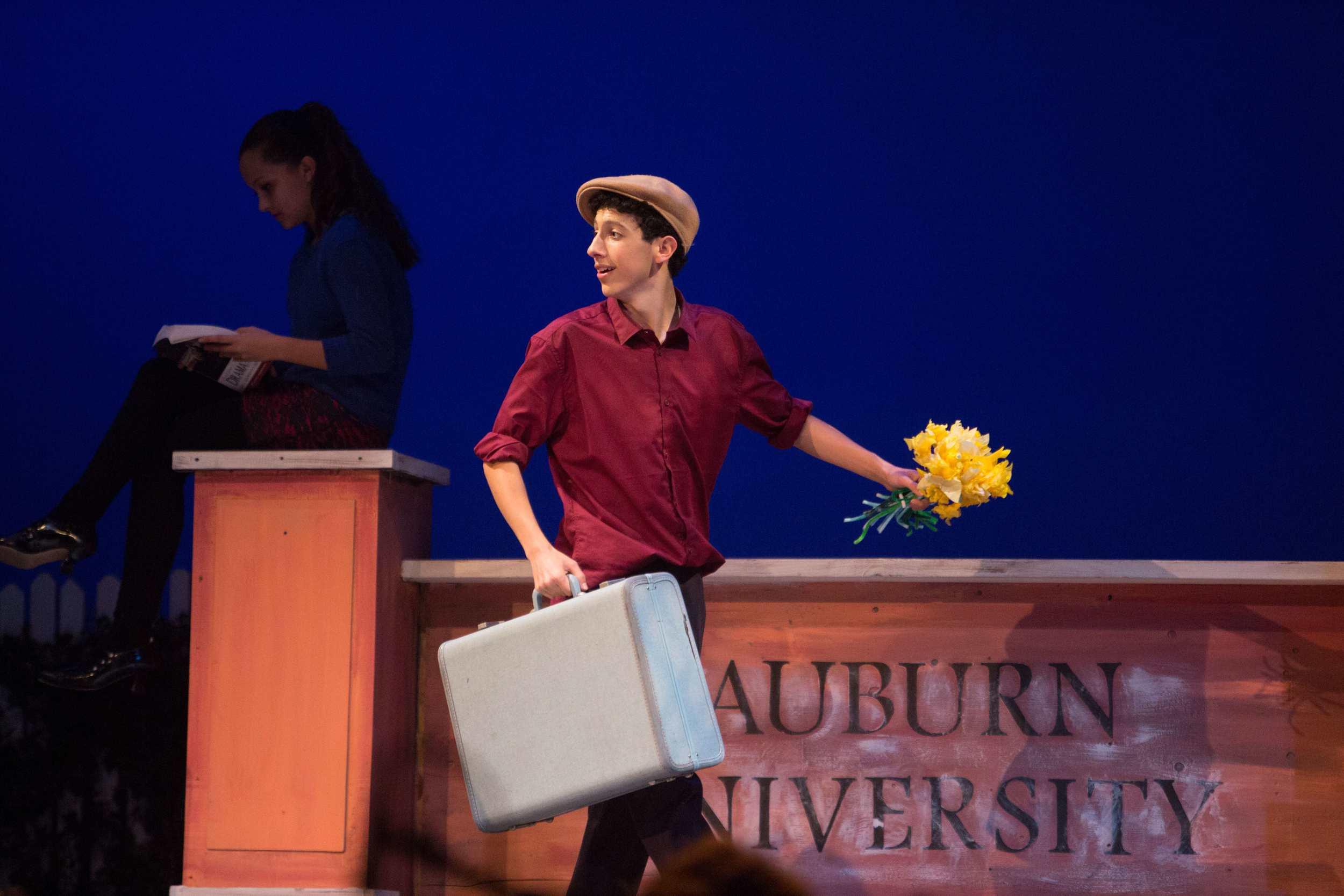 Big Fish: The MusicalatSanta Barbara High School Theatre, Fall 2014. Photo: © Isaac Hernandez/PhotographybyIsaac.com