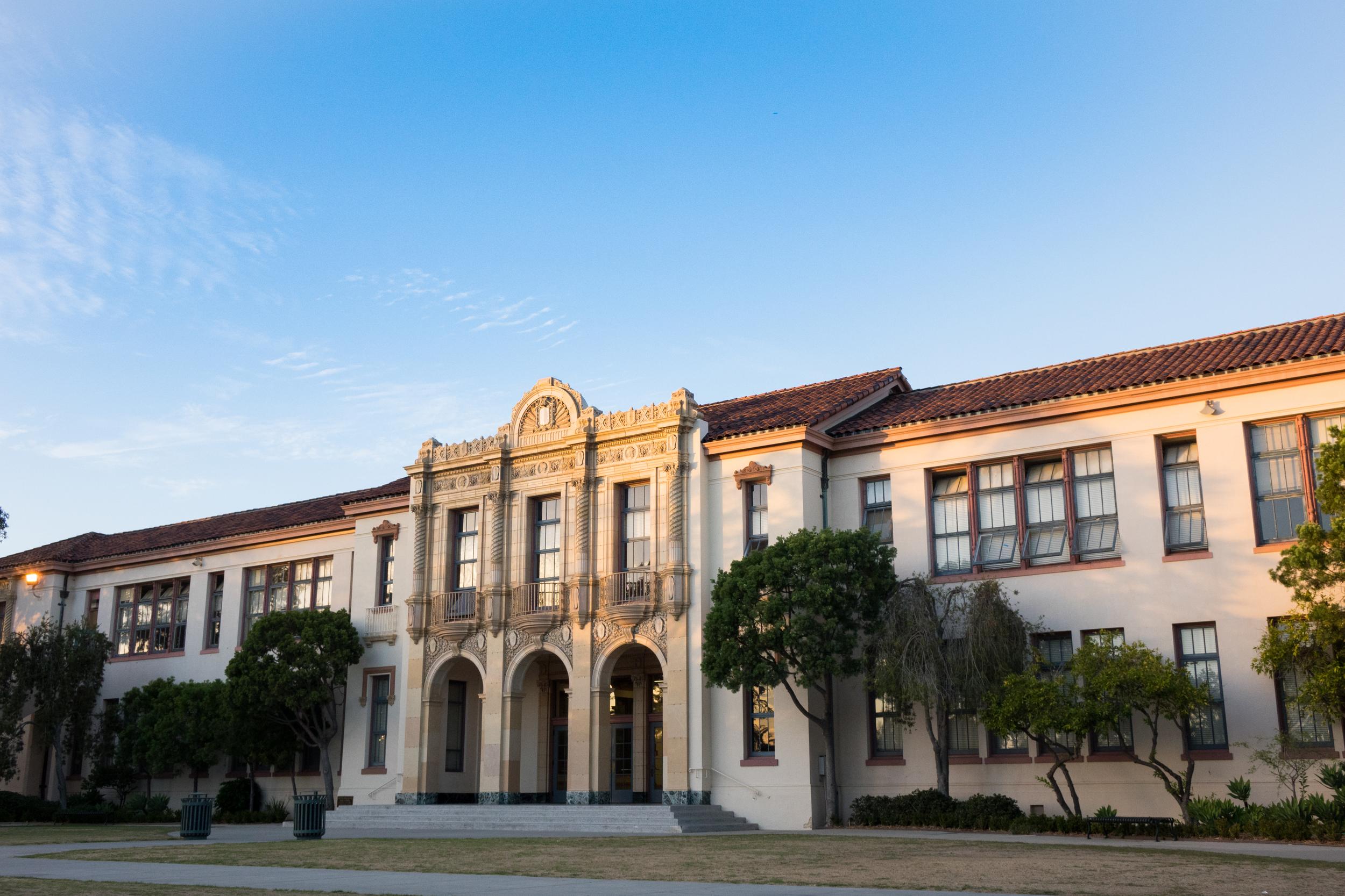 Santa Barbara High School. Photo Courtesy of Beau Lettieri