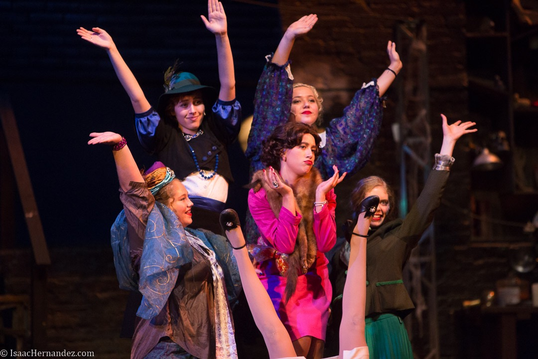 """""""Surprise"""", Young Frankenstein by Santa Barbara High School Theatre, directed by Otto Layman. November 2016. Photo: copyright © Isaac Hernandez Herrero 2016"""