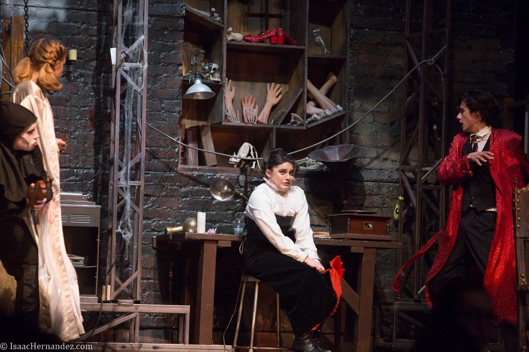 """He Vas My Boyfriend"", Young Frankenstein by Santa Barbara High School Theatre, directed by Otto Layman. November 2016. Photo: copyright © Isaac Hernandez Herrero 2016"