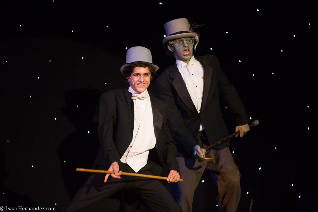 """Puttin' On The Ritz"", Young Frankenstein by Santa Barbara High School Theatre, directed by Otto Layman. November 2016. Photo: copyright © Isaac Hernandez Herrero 2016"