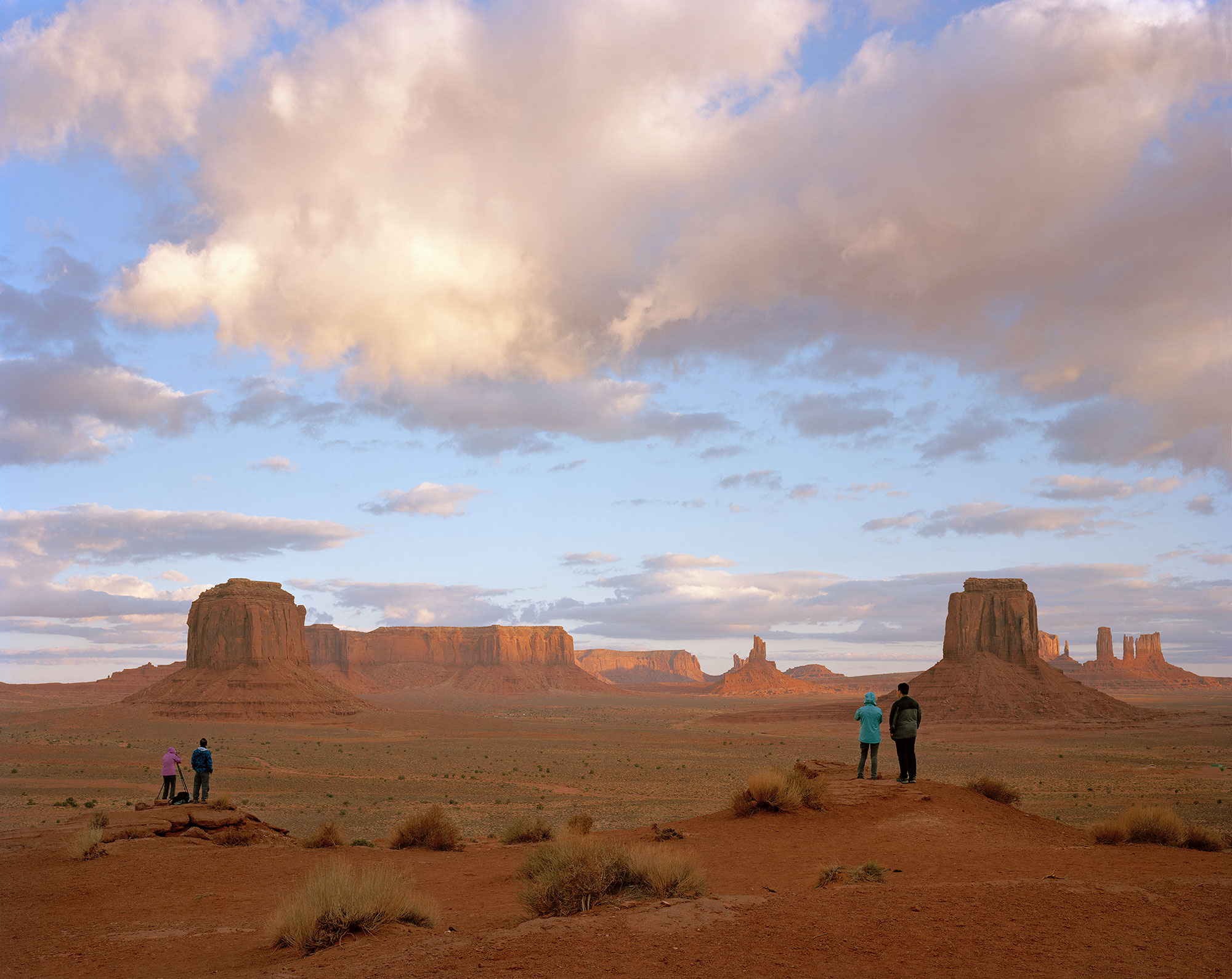 Artist's Point, Monument Valley Navajo Tribal Park, NM