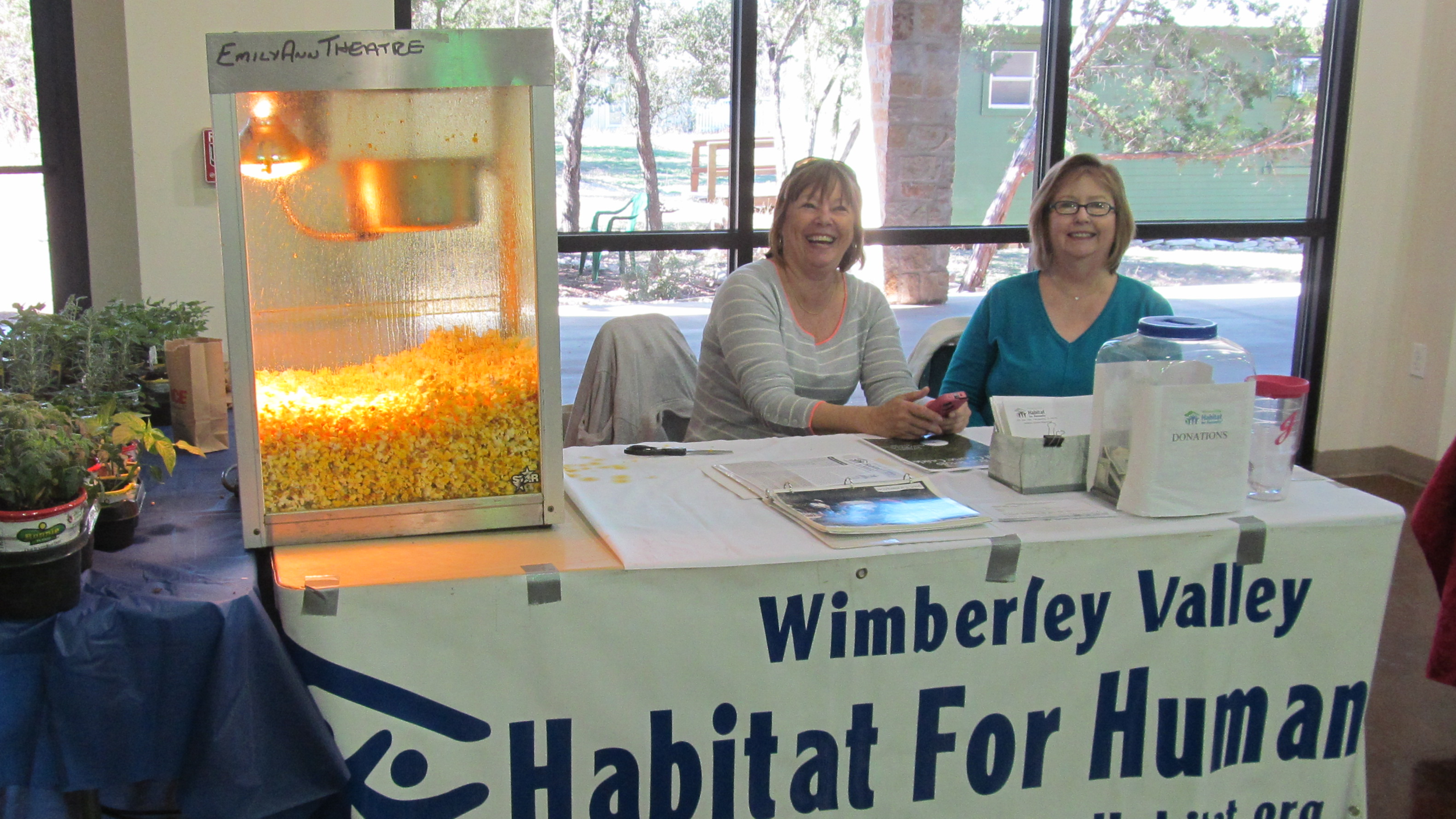 Judy Roach and Liz Wayland representing WVHH at the recent Home & Garden Show.JPG
