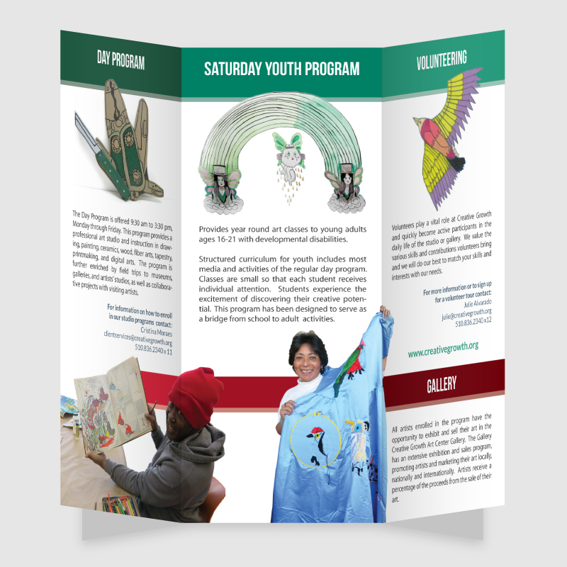 Creative Growth Trifold