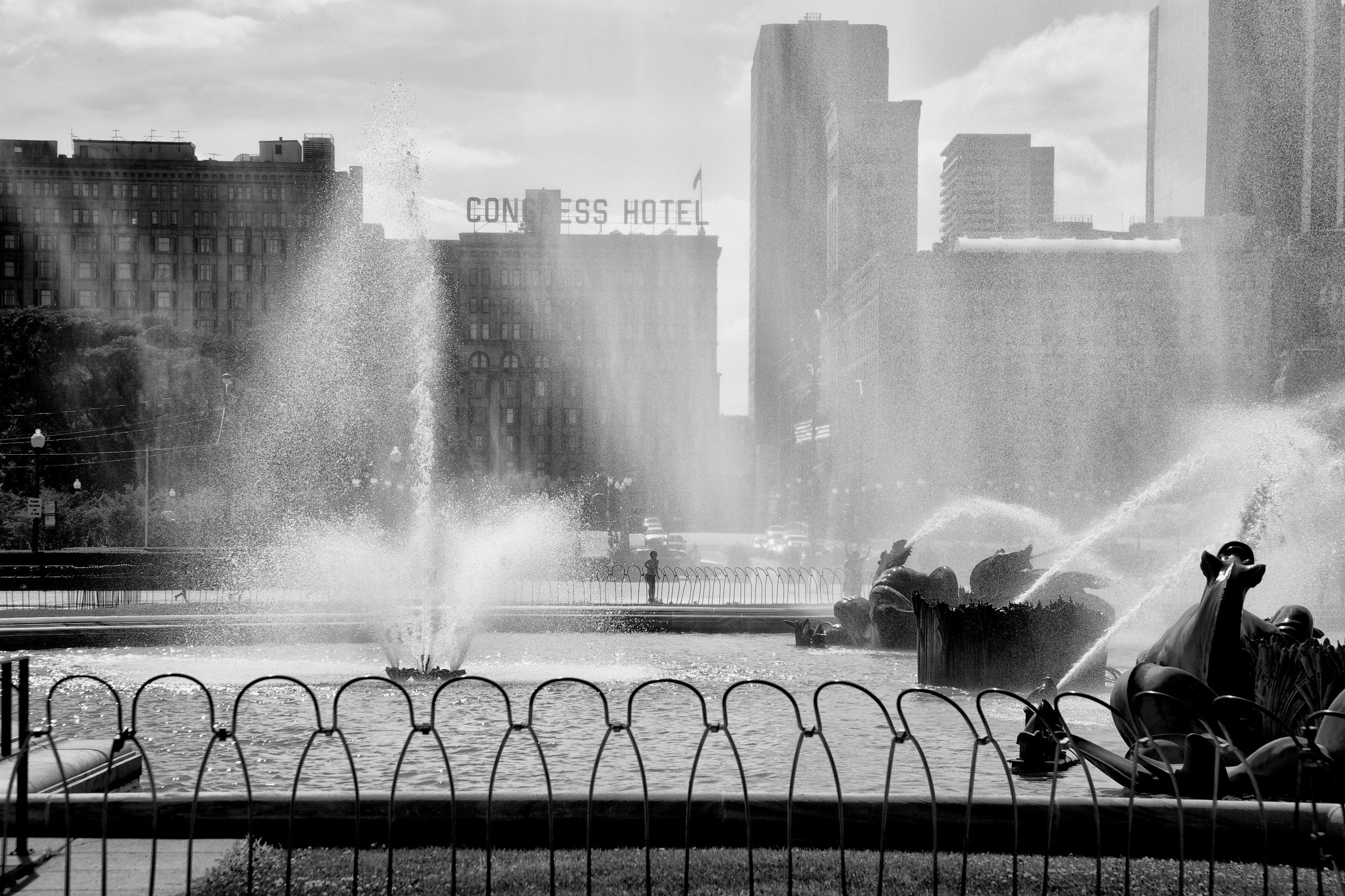 Afternoon Fountain B&W.jpg