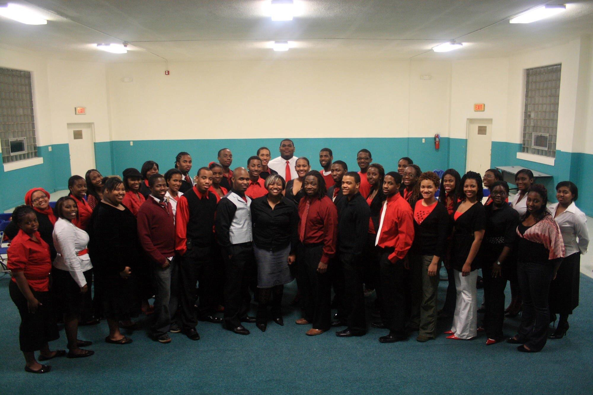 Some of my closest friends while doing undergrad at Oakwood University