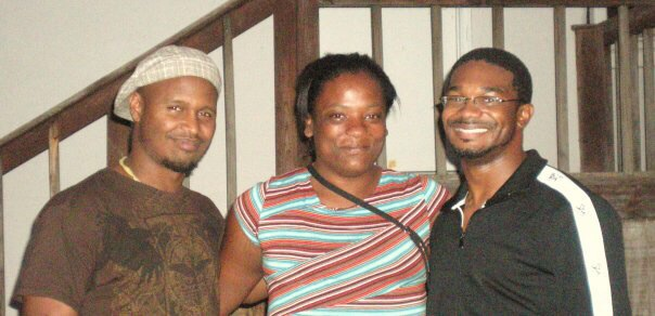 Adrinna, my close friend Ndubuisi (BC) Nwade, and I