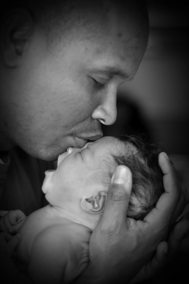 meet my second love, Abrielle Joy, given to me by my first love, Melissa