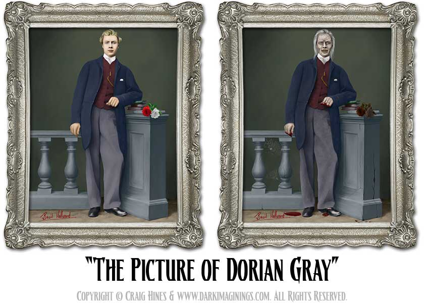 Many Christians are the Dorian Gray of Christ's followers: more quick to point out the flaws in others, than to face their own evil self-portrait