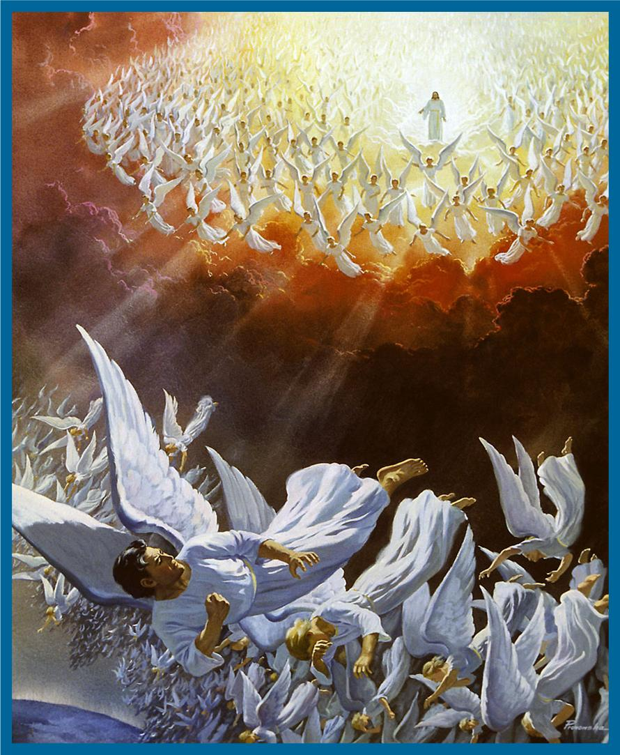 The Revelation 12 war in heaven, post ascension, which Satan's final eviction.