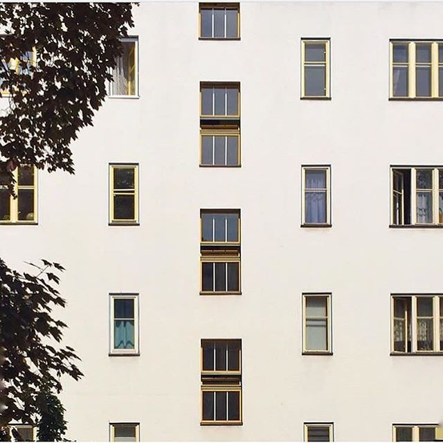 One of my favourite views • • • • • • • • #hauptstadt #visitberlin #deinberlin #germanytourism #berlinergram #ig_berlin #takenoniphone #facadedesign #germanvision #igersgermany #ig_germany #facadedesign #minimalism #deutschland_greatshots #pattern #minimal #bauhausdesign #topberlinphoto #facade #facadelover #architecture_hunter #architecturelovers #berlin365  #kreuzberg #bauhaus #berlin #apartments  #wonderlustberlin
