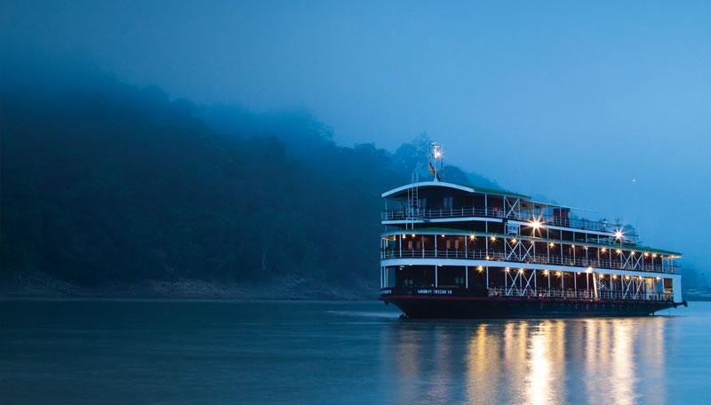 Elvecruise i Burma